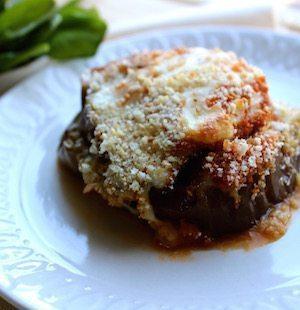 Pesto Eggplant Parmesan