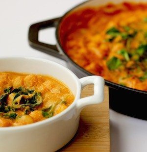 Roasted Red Pepper and Squash Curry
