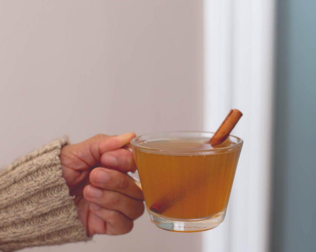 Dark Rum Hot Toddy