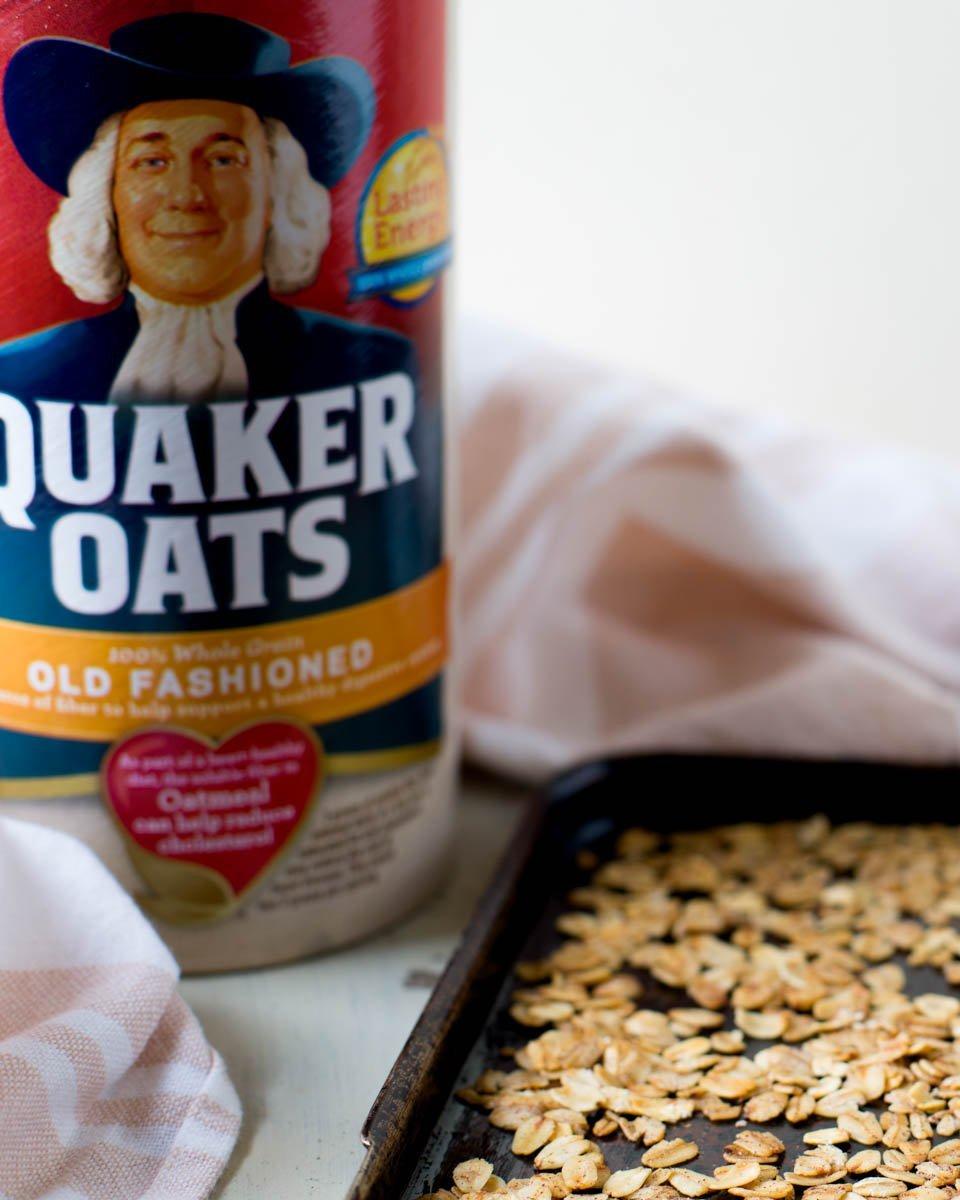 Toasted Oats Fall Breakfast Parfait